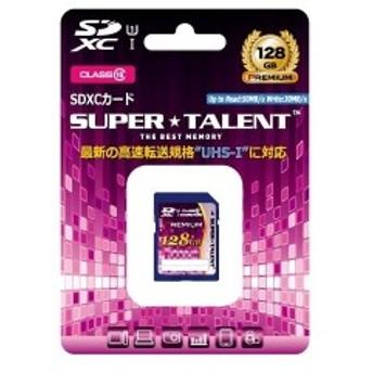 SUPER TALENT ST28SU1P [SDXCメモリーカード (class10 128GB)]