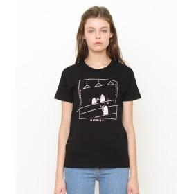 [マルイ] 【ユニセックス】ベーシックTシャツ/ミッドナイトビューティフルシャドー/グラニフ(graniph)