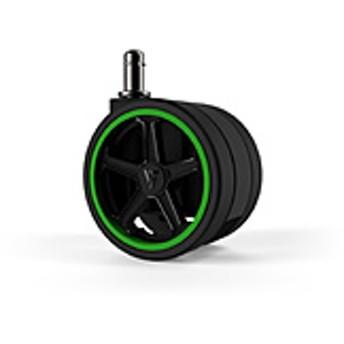 Vertagear Racing Series Opt Penta RS1 Casters 65mm (5pack) Green VG-CASRS1-65GR [65mm径キャスター/グリーン/5個] オートブレーキ無し