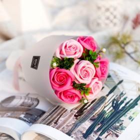 ソープフラワー ボックス アレンジメント ソープフラワーギフト 花 7花束 誕生日 プレゼント 母 女性 女友達 彼女 結婚祝い お祝い ギフト 退職 新築祝い 送別会 お花 贈り物