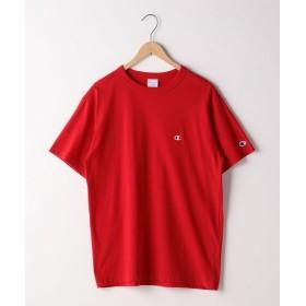 コーエン Champion(チャンピオン)ワンポイントベーシックTシャツ(C3 P300) メンズ RED SMALL 【coen】