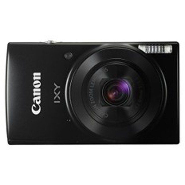 Canon デジタルカメラ IXY 190 ブラック 光学10倍ズーム IXY190BK