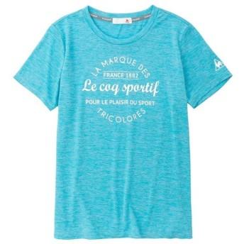(セール)le coq sportif(ルコックスポルティフ) レディーススポーツウェア Tシャツ 半袖シャツ QMWNJA13 PLC レディース PLC