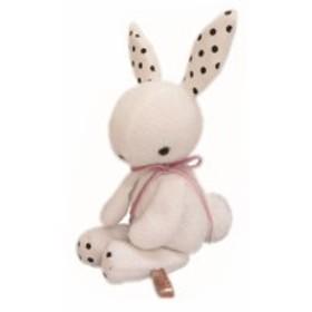 【ぬいぐるみ】ブランノワール【しろ】【うさぎ】【ウサギ】【ウサギ】【アニマル】【動物】【MON SEUIL】【モンスイユ】【ソフトトイ】