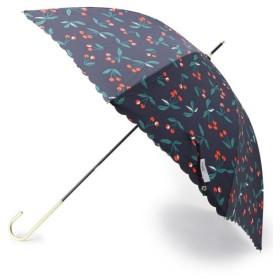 デッサン Wpc. 晴雨兼用チェリー柄長傘 レディース ネイビー(093) 00 【Dessin】