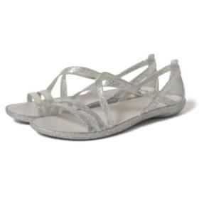 crocs × Ray BEAMS / 別注 イザベラ サンダル レディース サンダル SILVER 9