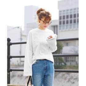 レカ シンプルゆったりカットソー レディース ホワイト FREE 【reca】