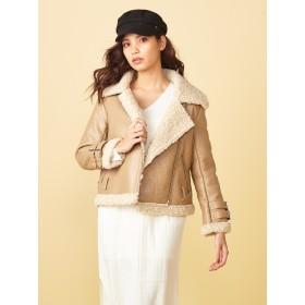 スーツジャケット - SPIRAL GIRL ボンバームートンボアジャケット