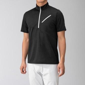 MIZUNO SHOP [ミズノ公式オンラインショップ] ドライベクターライトインナージップシャツ[メンズ] 09 ブラック B2MA9061