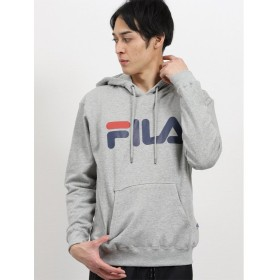 【30%OFF】 タカキュー フィラ/FILA ベーシックロゴプルパーカー メンズ グレー L 【TAKA-Q】 【セール開催中】
