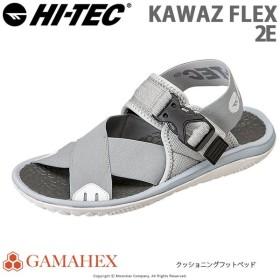 ハイテック HI-TEC メンズ/レディース サンダル KAWAZ FLEX グレイ