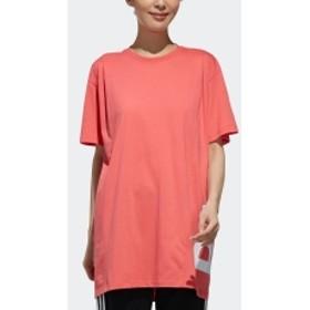 W ID 半袖 サイドCAPリニア グラフィック Tシャツ