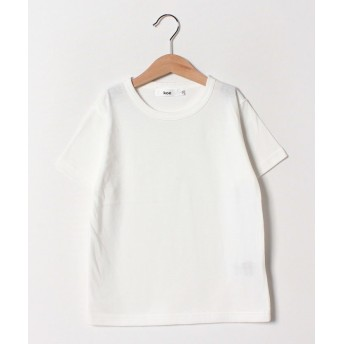 【50%OFF】 コエ オーガニック超長綿Tシャツ レディース ホワイト 110 【koe】 【セール開催中】