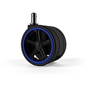 Vertagear Racing Series Opt Penta RS1 Casters 65mm (5pack) Blue VG-CASRS1-65BL [65mm径キャスター/ブルー/5個] オートブレーキ無し