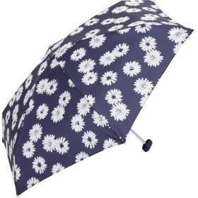 折りたたみ傘 コンパクトポーチ Sマーガレットミニ ネイビー