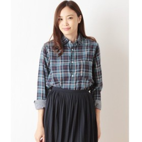 TOPKAPI / トプカピ オンライン限定・コットンダブルガーゼ長袖シャツ