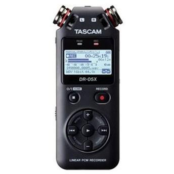 タスカム リニアPCM対応ICレコーダー外部マイクロSDスロット搭載 TASCAM DR-05X 返品種別A