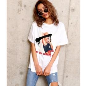 [マルイ]【セール】フォトプリントBIGTシャツ/アナップ(ANAP)