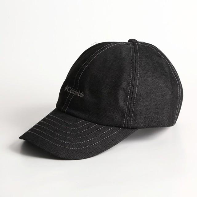 帽子・防寒・エプロン コロンビア RUN TO BAY CAP(ラントゥー ベイ キャップ) ワンサイズ 010(BLACK DENI)