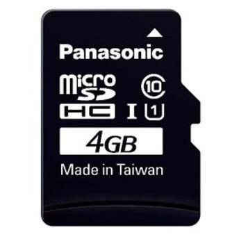 PANASONIC RP-SMGA04GJK [microSDHCメモリーカード(4GB・UHS Speed Class1(Class10)対応)]