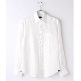 CRICKET / クリケット リネン100% ボタンダウンカラーシャツ