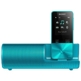 SONYデジタルオーディオプレイヤー(16GB) スピーカー付属ウォークマンSシリーズブルーNW-S315K L