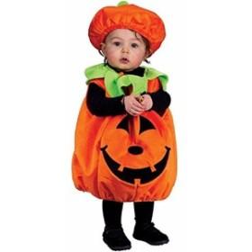 ハロウィン コスプレ かぼちゃ パンプキン コスチューム キッズ 子供 妖精 仮装 パーティー イベント 衣装 ドレス 100-120 cm