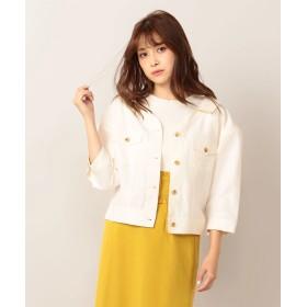 スーツジャケット - MIIA 抜き衿シャツジャケット