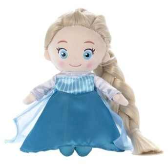 ディズニーキャラクター マイフレンドプリンセス ヘアメイクプラッシュドール アナと雪の女王 エルサ おもちゃ こども 子供 女の子 人形遊び 3歳
