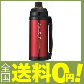 タフコ ステンレス魔法瓶構造スポーツボトル アクティブボーイII レッド 1L F-2666