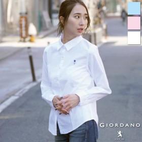シャツ - GIORDANO [GIORDANO]CLMN刺繍ストレッチオックスシャツ