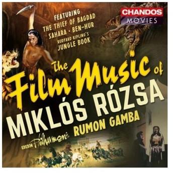 ラモン・ガンバ The Film Music of Miklos Rozsa CD