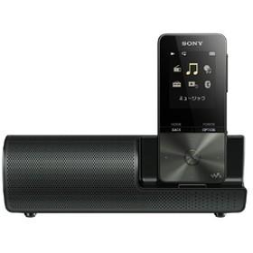 SONYデジタルオーディオプレイヤー(4GB) スピーカー付属ウォークマンSシリーズブラックNW-S313K B