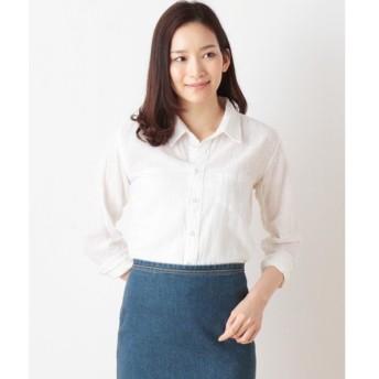 TOPKAPI / トプカピ オンライン限定・綿麻シワ加工オープンシャツ