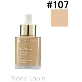 クラランス CLARINS スキンイリュージョンファンデーション #107 beige 30ml [234329]