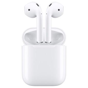 AppleBluetooth接続ワイヤレスイヤフォンAirPods(エアポッド)ホワイトMMEF2J/A