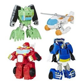 Transformers Rescue Bots Griffin Rockレスキューチームセット