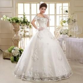 ウェディングドレス二次会ウエディングドレスロング二次会ドレスベアトップロングドレス花嫁ドレスイブニングドレスビスチェ大きいサイズ