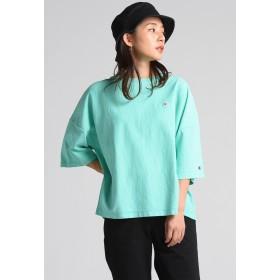 LIPSTAR 【Champion】チャンピオン REVERSE WEAVE T-SHIRT Tシャツ・カットソー,グリーン