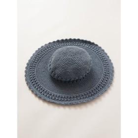 帽子全般 - チャイハネ 【チャイハネ】無地クロッシェキャペリンハット