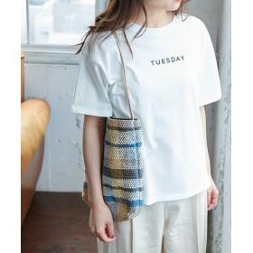 【30%OFF】 ロペピクニック A WEEK Tシャツ レディース ホワイト系(11) 38 【ROPE' PICNIC】 【セール開催中】
