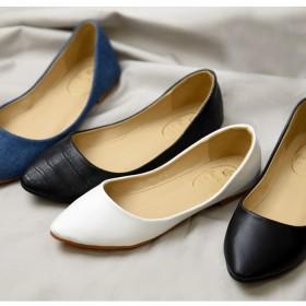 パンプス - NOFALL レディース 靴 パンプス アーモンドトゥ 可愛い おしゃれ 軽い 軽量 バレエ バレエシューズ フラット 黒 ブラック ホワイト NOFALL sango サンゴ