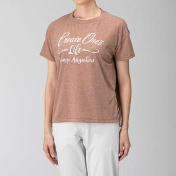 MIZUNO SHOP [ミズノ公式オンラインショップ] フィーリンテックグラフィック半袖Tシャツ[レディース] 64 テラコッタ B2MA9221