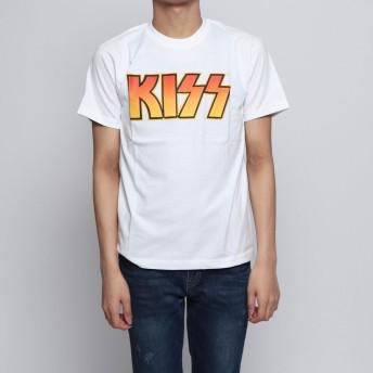 ナノ ユニバース NANO UNIVERSE outlet KISS TEE SS (ホワイト)