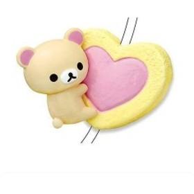 CORD KEEPER!リラックマ Sweets (コードキーパー リラックマ スイーツ) [2.ハートチョコクッキー](単品)
