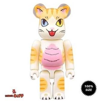 Negora Kaiju Cat Odd Eye 100% Bearbrick by Konatsu X Medicom Toy