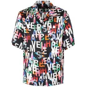 《期間限定セール開催中!》MISBHV メンズ シャツ ブラック XL レーヨン 100% MISBEHAVE Short Sleeve Shirt