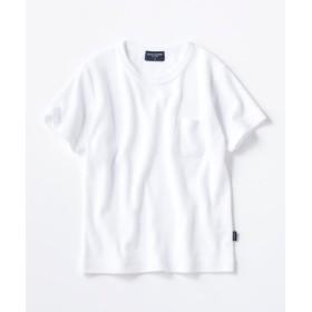 BACK NUMBER ストレッチ半袖Tシャツ キッズ ホワイト