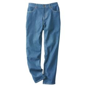 ゆるフィットデニムパンツ(股下70cm) (レディースパンツ),pants