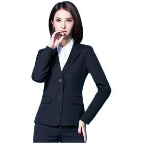 ジャケット・ブルゾン - HANAHANA パンツスーツ 洗える スーツ レディーススーツ 大きいサイズ XL 2XL 3XL 4XLフレシャーズスーツ リクルートスーツセレモニースーツ 大きいサイズ レディース スーツ ビジネススーツ